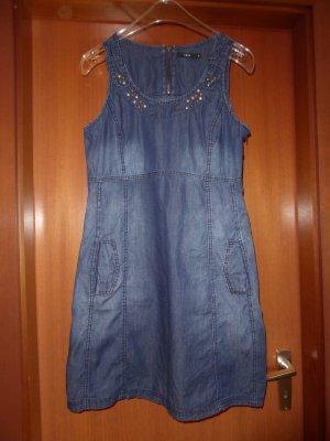 Zero Sommer Kleid Jeanskleid Denim 38 Neu