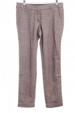Zero Strapped Trousers grey brown-white herringbone pattern dandy style