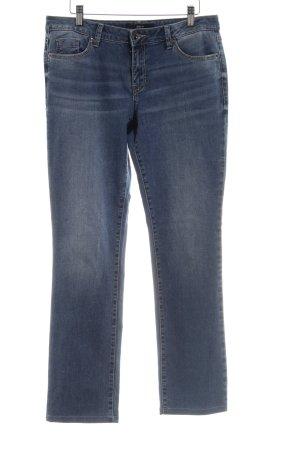 Zero Straight-Leg Jeans blau Casual-Look