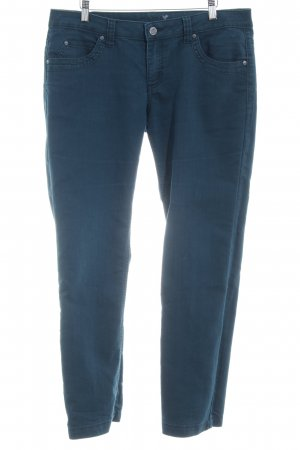 Zero Straight-Leg Jeans petrol Casual-Look