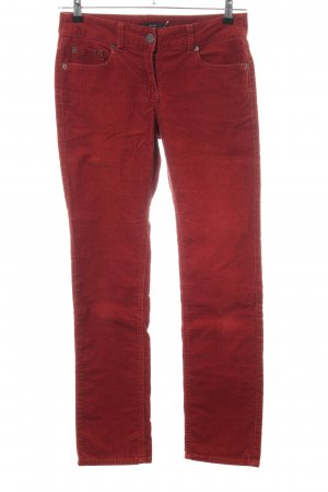 Zero Stretch Jeans red casual look