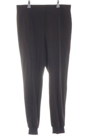 Zero Stretchhose schwarz-silberfarben Business-Look