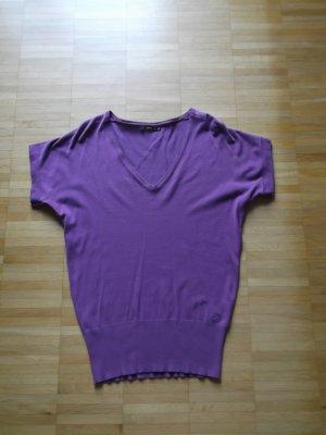 ZERO Strick-Pullunder Long-Pullover Lila Gr. 36 1x getragen wie NEU