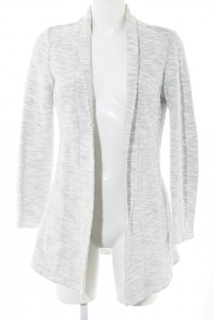 Zero Knitted Blazer light grey-white flecked casual look