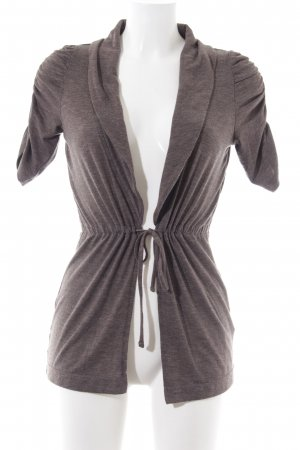 Zero Strickjacke braun Casual-Look