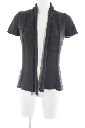 Zero Giacca in maglia grigio chiaro stile casual