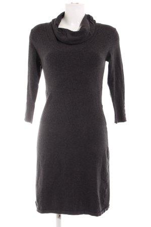 Zero Knitted Dress dark grey casual look