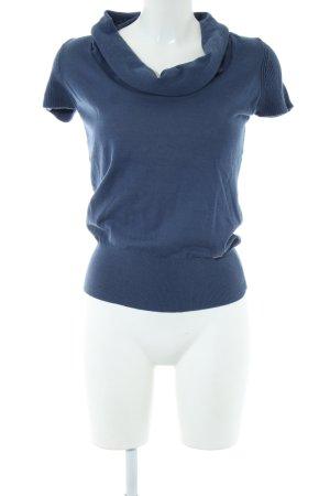 Zero Strickshirt blau Casual-Look