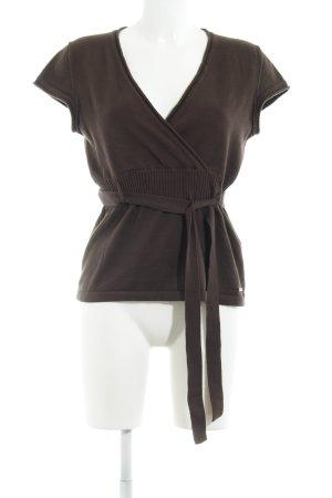 Zero Camicia maglia marrone chiaro stile casual