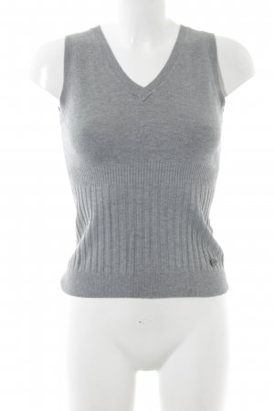 Zero Knitted Top light grey casual look