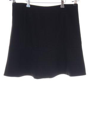Zero Gelaagde rok zwart casual uitstraling