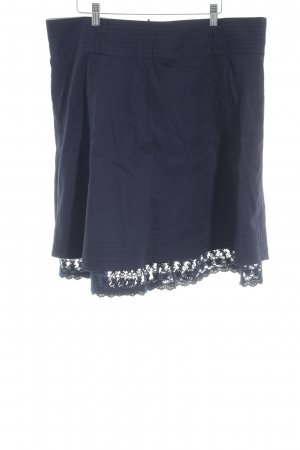 Zero Broomstick Skirt dark blue casual look