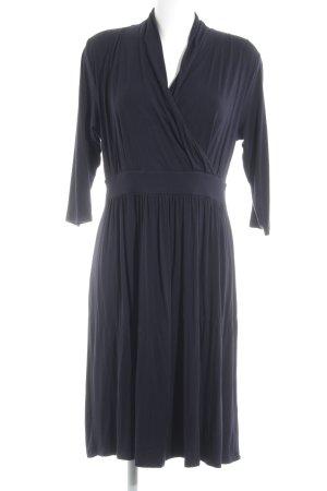 Zero Vestido de tela de sudadera azul oscuro look casual