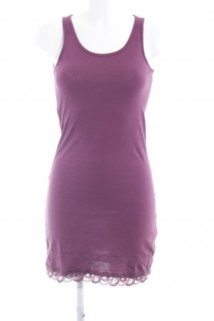 Zero Sweat Dress grey lilac casual look