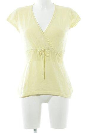 Zero Camiseta amarillo look casual