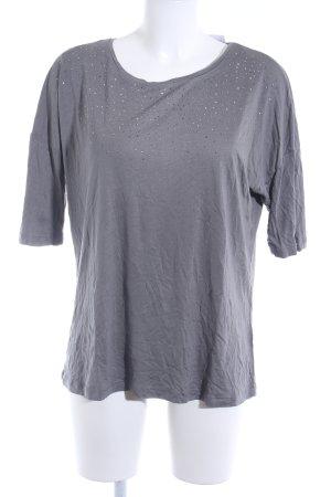 Zero Camiseta gris brillante