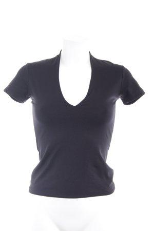 Zero Camiseta negro look casual