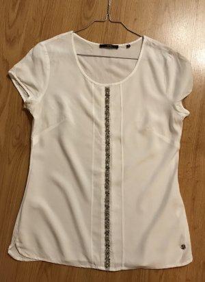 Zero T-Shirt weiß mit Glitzer Gr.34