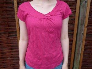 Zero Short Sleeved Blouse violet-pink