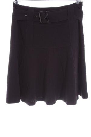 Zero Circle Skirt black casual look
