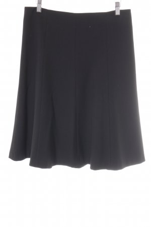 Zero Falda circular negro estilo «business»