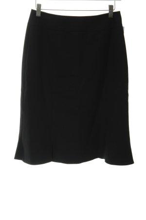 Zero Falda circular negro elegante
