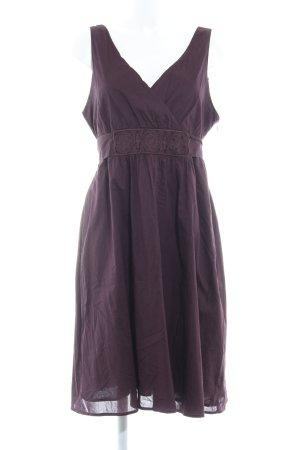 Zero Trägerkleid dunkelviolett Elegant