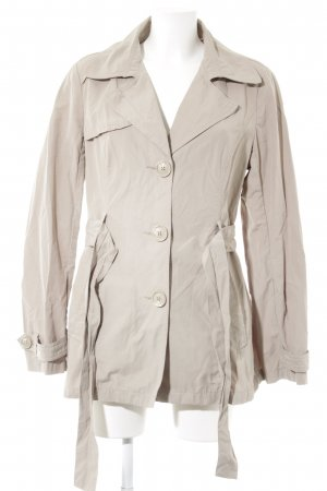 Zero Trench Coat beige simple style