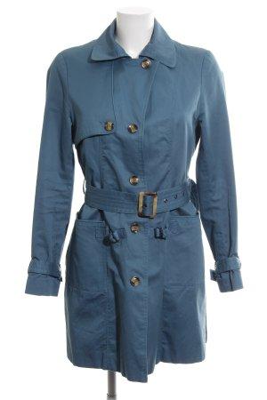 Zero Trenchcoat bleu style décontracté