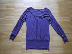 ZERO Tunika Lila Gr. 34 Verzierungen Viskose 1x getragen wie NEU