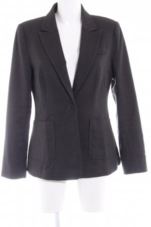 Zero Tweed blazer donkergrijs elegant