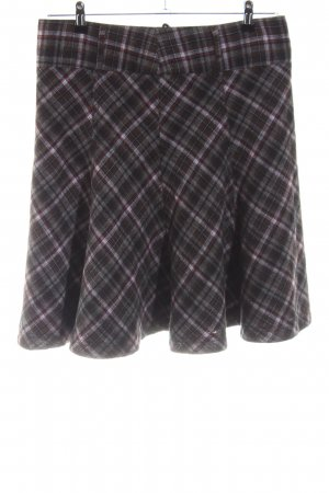 Zero Tweed rok volledige print zakelijke stijl