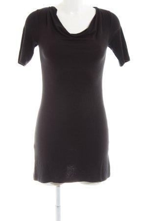 Zero Boothalsshirt zwart casual uitstraling