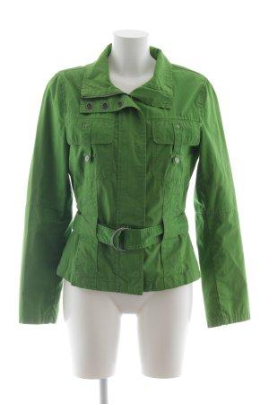 Zero Übergangsjacke grün schlichter Stil