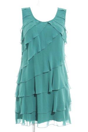 Zero Volantkleid waldgrün Elegant