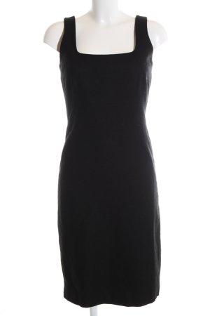 Zero Vestido de lana negro estilo «business»