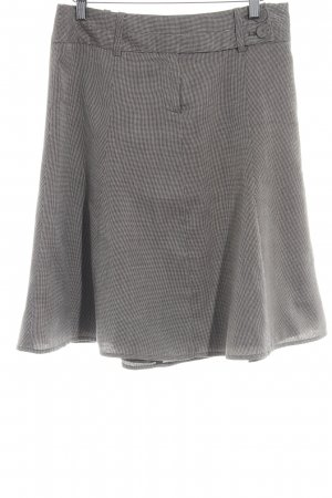 Zero Gonna di lana marrone-nero-beige chiaro stile professionale
