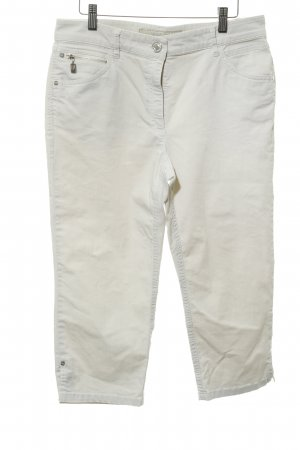 Zerres 3/4 Length Trousers oatmeal simple style