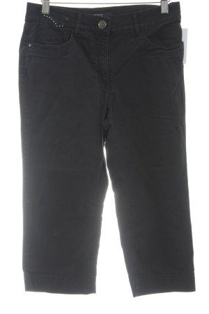 Zerres 3/4 Jeans dunkelgrau Casual-Look