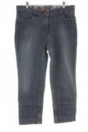 Zerres 7/8 Jeans hellgrau Casual-Look