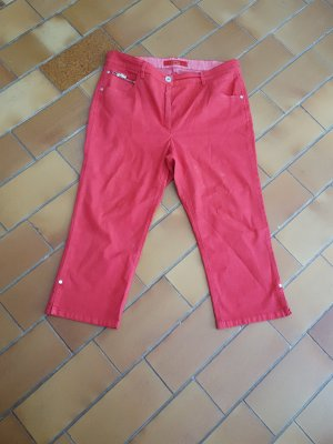 Zerres Capri Jeans 42 normal in rot  wie neu
