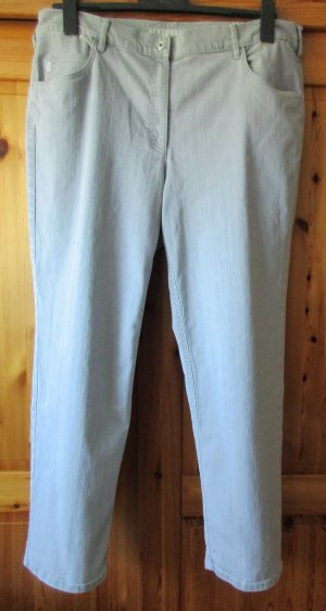 Zerres Carrot Jeans light grey mixture fibre