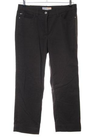 Zerres Pantalón de cinco bolsillos negro look casual