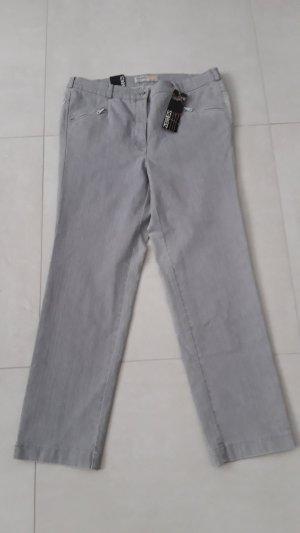 Zerres Vaquero elásticos gris claro-gris tejido mezclado
