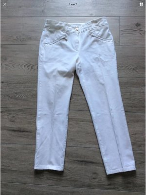 Zerres Stretch Trousers white