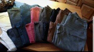 Zerres Jeans taille haute multicolore