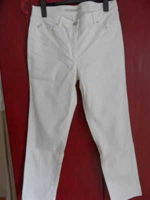 ZERRES Jeans, weiß, Stretch Größe 46