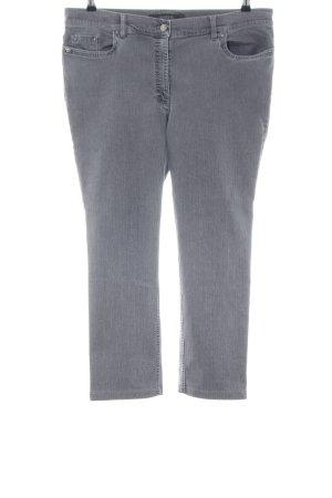 Zerres Straight-Leg Jeans hellgrau Casual-Look