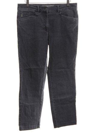 Zerres Straight-Leg Jeans schwarz Casual-Look