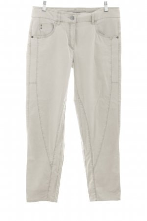 Zerres Stretch Jeans creme Casual-Look